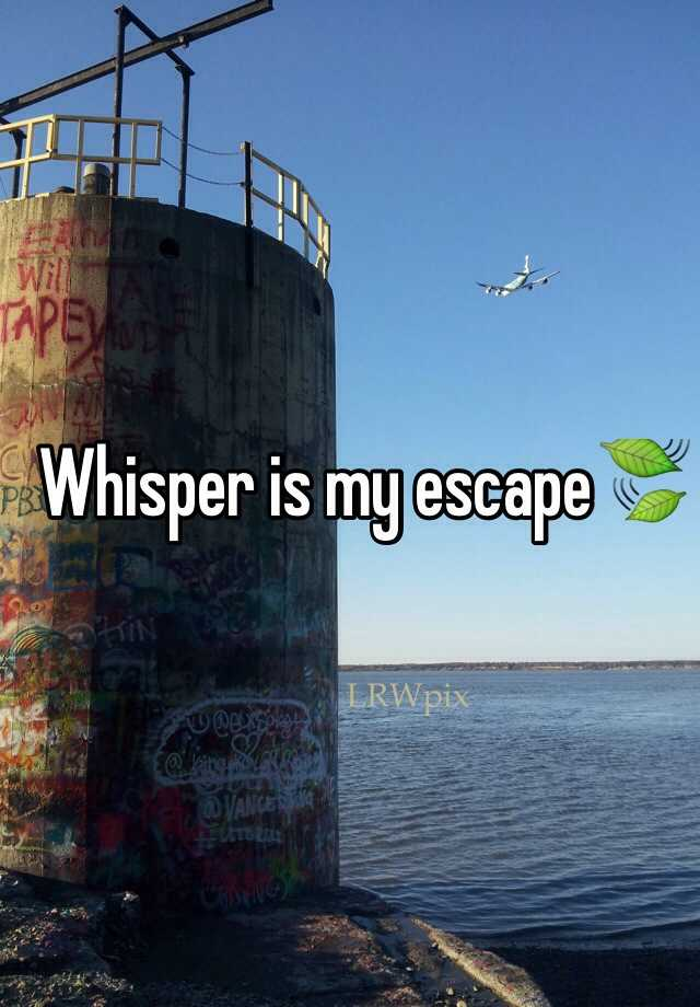 Whisper is my escape🍃